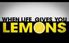 Cave Johnson's wise words on what to do when life gives you lemons.    Created using After Effects for a university project