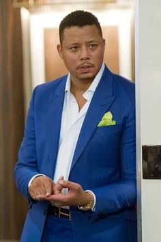 Terrance Howard in Empire the tv show Empire Cast, Empire Fox, Empire Season, Black Actors, Bronze, Grown Man, Well Dressed, Mens Suits, Chic