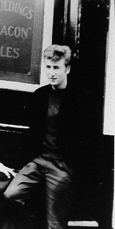 John Lennon In His Early