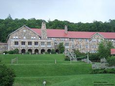 "Mountain Lake Resort in Pembroke, Virginia. The famous ""Kellerman's Hotel"" from Dirty Dancing."