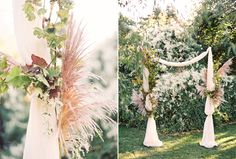 DIY Ceremony Arch Idea // #decor