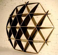 (flat pack inspired) Contemporary Shelf Strorage Bookcases Design Comb Jaanus Orgusaar