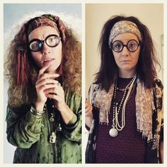 Lauren Cook as professor Trelawney