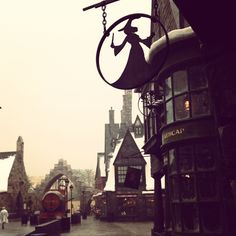 Harry Potter World, Universal Studios. Orlando, FL