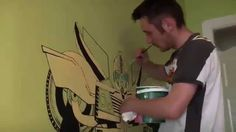 """Transformers """"Bumblebee Prime"""" Mural By RED"""