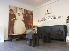 Wand- & Raumgestaltung, Wall Visuals und Raumelemente, Beauty Diamond Studio.