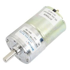 DC 24V 150RPM Output Speed Cylinder Shaped Oven Geared Motor