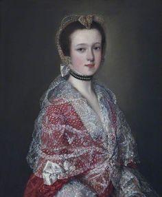 The Athenaeum - Louisa Barbarina Mansel, Lady Vernon (Thomas Gainsborough - )