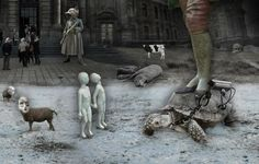 Arte oscuro Marcin Owczarek Animal Farm 2.012