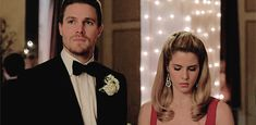 Oliver and Felicity in Arrow 3x17