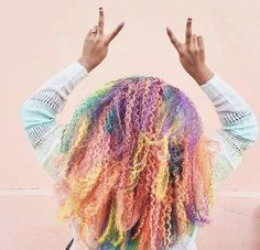 10 Rainbow Hairstyles You Need to Try for Gay Pride