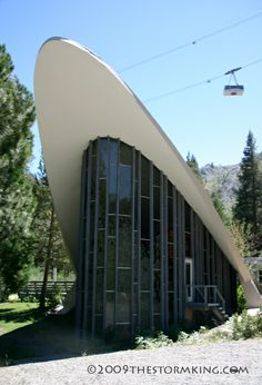 My California ...the Divine Daytripper's travel guide: Architecture In Tahoe: Squaw Valley Chapel