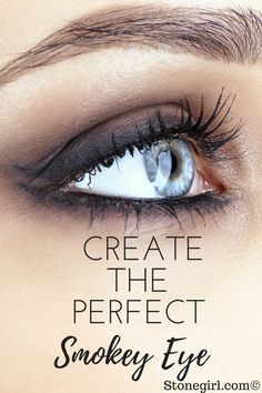 It's so much easier than it looks to create a gorgeous smokey eye, no matter what your eye color is. Check out these easy tips!