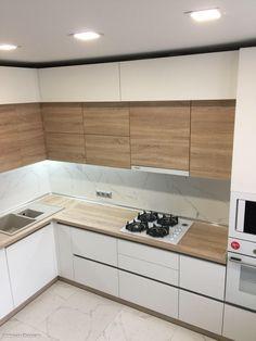 Simple Kitchen Design, Kitchen Pantry Design, Best Kitchen Designs, Kitchen Layout, Home Decor Kitchen, Interior Design Kitchen, Modern Kitchen Interiors, Small Modern Kitchens, Kitchen Modular