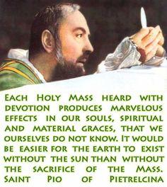 St. Padre Pio!