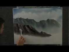 Paint with Kevin Hill - Fly Fishing Creek wet on wet HD