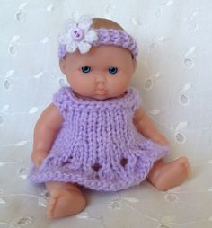 This doll will be in my next cradle purse!