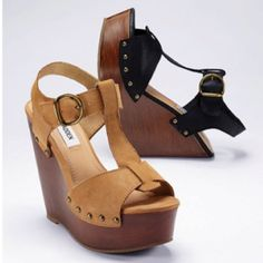 Steve Madden wedges want these