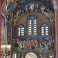 Византийская иконопись: Михаил Алевизакис (православное церковное искусство) Orthodox Icons, Egypt, Scene, Painting, Religion, Art, Catholic Saints, Art Background, Painting Art