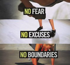 fitness. no excuses