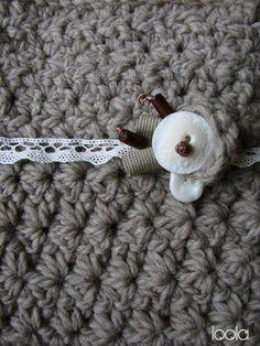 borsa in lana all'uncinetto