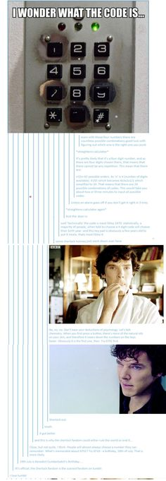 Sherlock out.