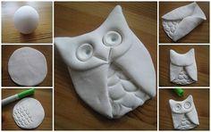Modelovacia hlina len z dvoch ingrediencií - Modelárstvo - Majstrovanie | Hobby portál Diy And Crafts, Crafts For Kids, Clay Art, Decoupage, Children, Handmade, Ceramics Ideas, Molde, Christmas Clay