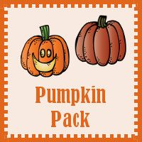 FREE Pumpkin Pack - Math and Language for ages 2 to 8.  Over 80 awesome pages!