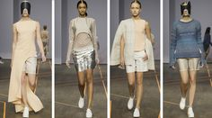 Stockholm Fashion Week - Isabell Yalda Hellysaz inspired by the 60's, astronauts and the exploration of space.