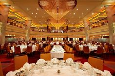The Blush Dining Room on the Carnival Breeze.
