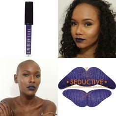 *Black owned extreme matte liquid lipsticks also sells regular matte lipstick, brow promade, bamboo setting powder, and highlighters  http://www.alldolledupbyshana.bigcartel.com/category/extreme-matte-liquid-lipstick $14