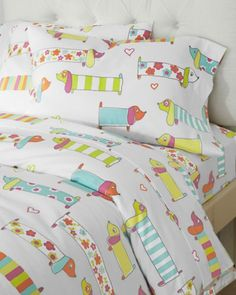 Puppy Love Flannel Comforter Cover