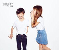 Brandon y Nadia de Sugar Kids para Zara