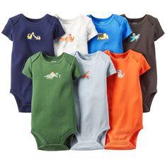 7-Pack Short-Sleeve Bodysuits $21.60