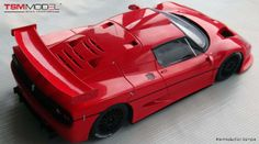 Ferrari F50 GT Fujimi Resin Collection Model Car in 1:18 Scale by Truescale Miniatures