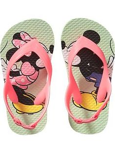 Size 8 Disney© Minnie and Mickey Mouse Flip-Flops for Baby Cute Baby Shoes, Baby Girl Shoes, Cute Baby Clothes, My Baby Girl, Babies Clothes, Toddler Shoes, Toddler Outfits, Toddler Girl, Girl Outfits