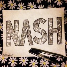 Nash Grier drawing. Spent all day on this!