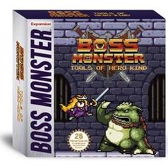 Boss Monster Tools of Hero-Kind The Dungeon Building Card Game