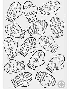 Winter Art, Winter Theme, Winter Crafts For Kids, Art For Kids, Colouring Pages, Coloring Pages For Kids, Christmas Activities, Preschool Activities, Christmas Coloring Pages