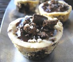 Girl Scout Thin Mint Cookie Cheesecake Cups | 30 Girl Scout Cookie recipes | Deseret News