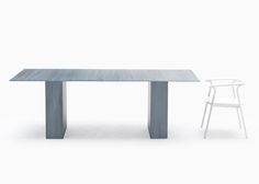 isible brush strokes pattern the surfaces of this furniture collection by Japanese studio Nendo for Italian brand Glasitalia