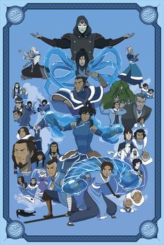 Some fan art for one of my favourite shows/series of all time, Avatar the Last Airbender and The Legend of Korra. Wanted to do a poster for each element with the characters commonly associated with each nation, rather than just benders (CABBAGE VENDOR! Avatar Aang, Avatar Legend Of Aang, Avatar The Last Airbender Funny, The Last Avatar, Team Avatar, Avatar Airbender, Legend Of Korra, Avatar Cartoon, Avatar Funny