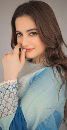 Aiman Khan, Pakistani Actress, Beauty Full Girl, Celebs, Celebrities, Outfit Goals, Ruffle Blouse, Actresses, How To Wear