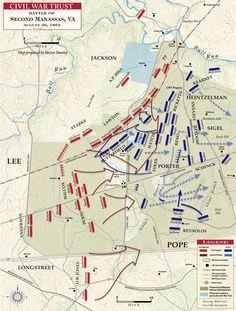Second Manassas Longstreet's Assault August 30, 1862