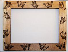Butterfly frame by *llinosevans on deviantART