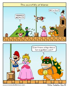 The Secret Life Of Mario