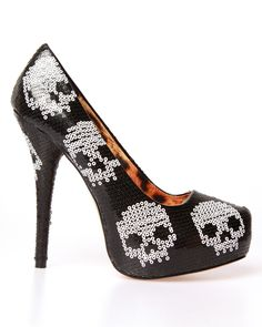 Iron Fist Digiskull Platform - Black - I think I'm in love ... if only I was 25!