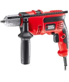 Black and Decker KR604CRESK Hammer Drill - 600W.: The Black & Decker hammer drill is a powerful 600 watt mains percussion drill that is…