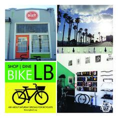 Biking Through Long Beach