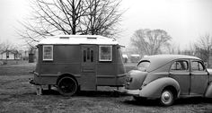 Trailer at tourist camp, Washington, D.C.–March, 1941